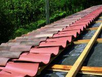 Dacheindeckung - Mönch Nonne - Bicoppo