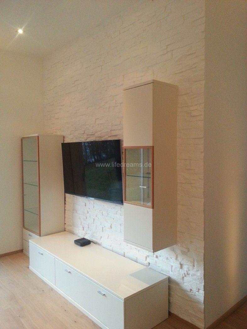 kunststeinpaneele-bari-weiss-privat-wohnzimmerwand-2