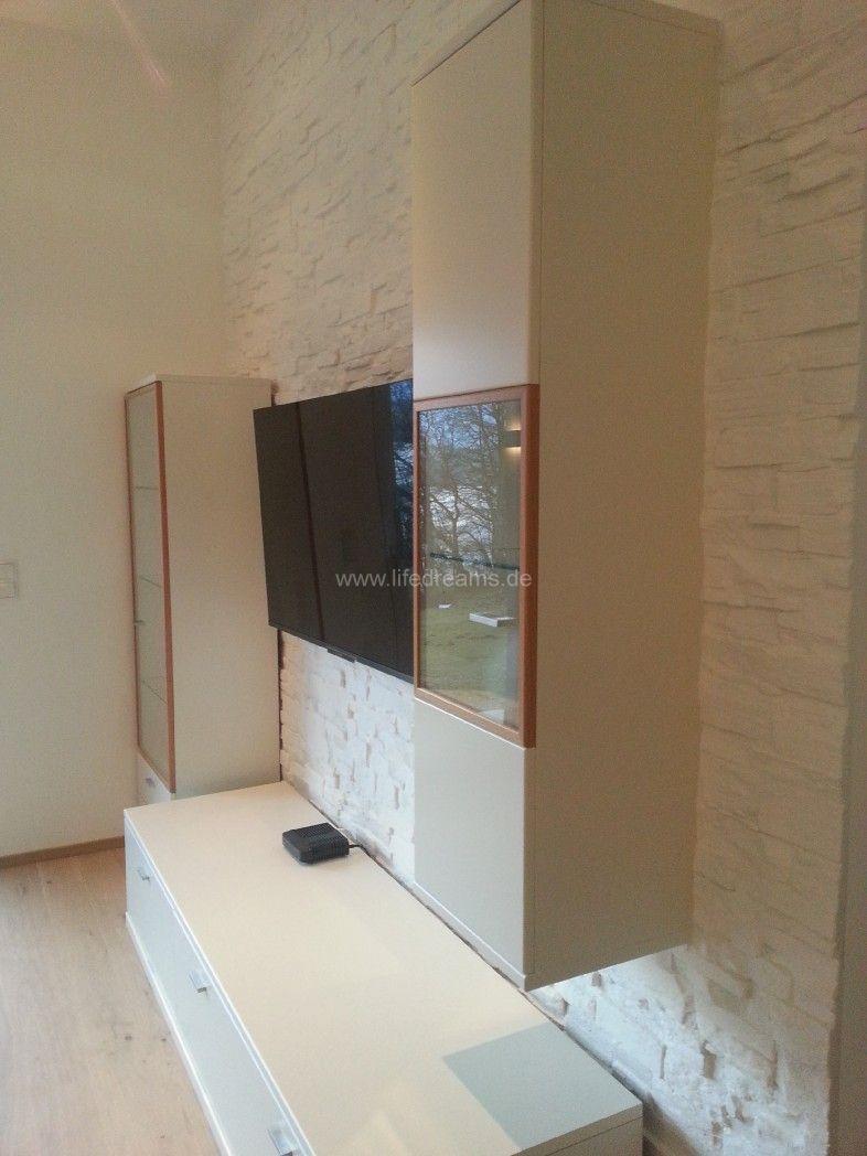 wohnzimmerwand weiß:FOR-REST – Holzpaneele Cuts für eine kreative Wandgestaltung