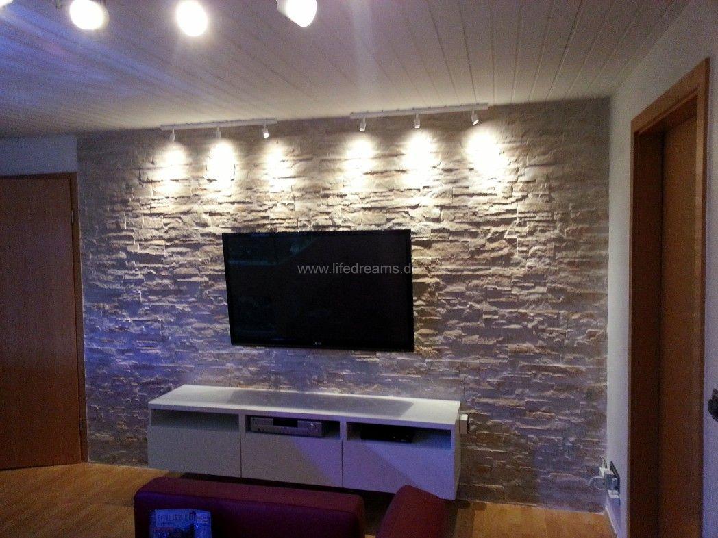wandsteine wohnzimmer | bnbnews.co, Wohnzimmer