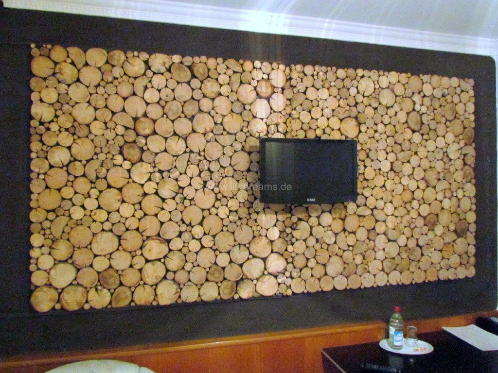 Wandgestaltung wohnzimmer holz – midir