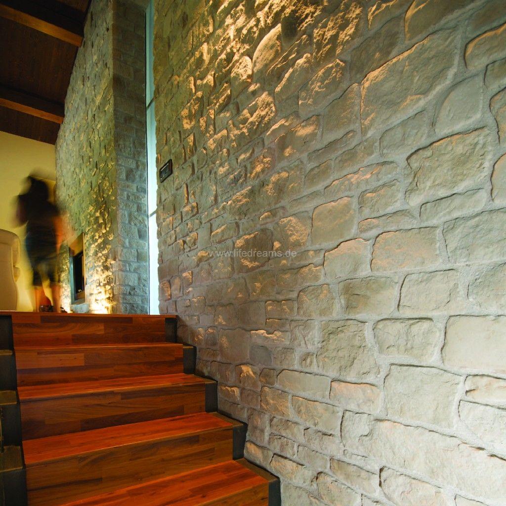 steinwände mediterran mit den kunststein riemchen arenal, Hause deko